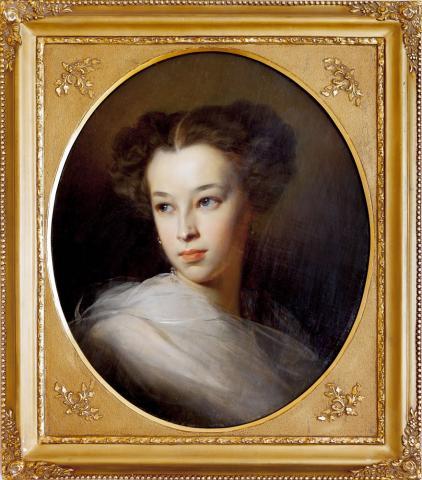 Макаров портрет Пушкиной